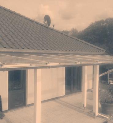 Terrassenüberdachung in Hennef